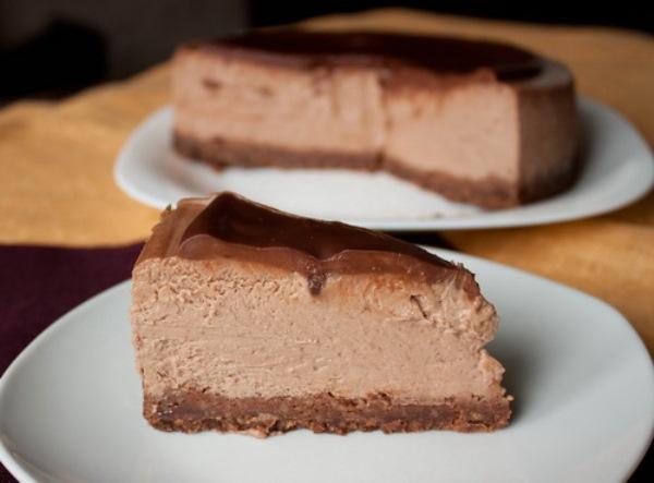 Тройной шоколадный чизкейк 7
