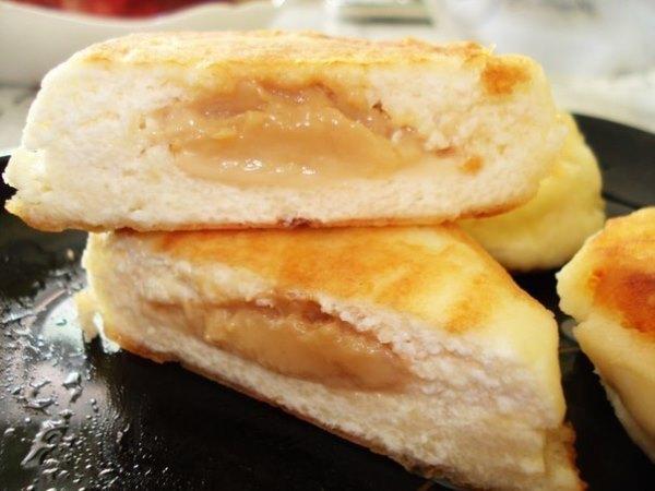 Сырники с вареной сгущенкой 1