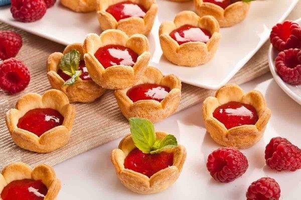 Малиновое печенье 7