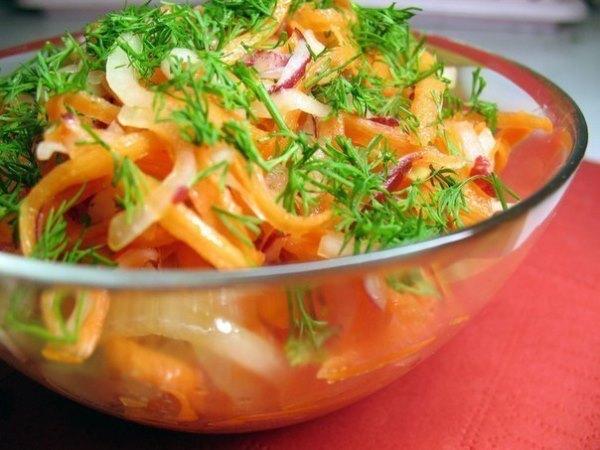 Лучшие рецепты салатов для похудения 1