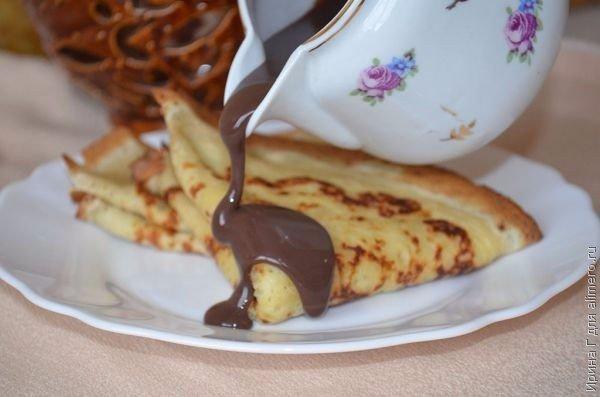 Шоколадный соус 1