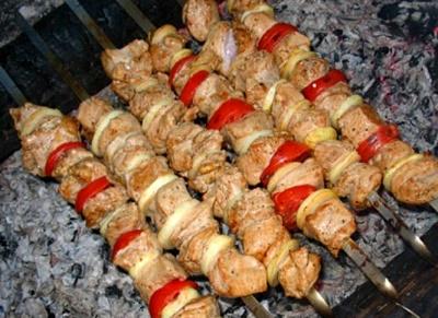 Абхазский шашлык к вину 5