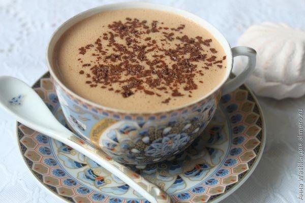 Зефирный горячий шоколад по-австрийски 1