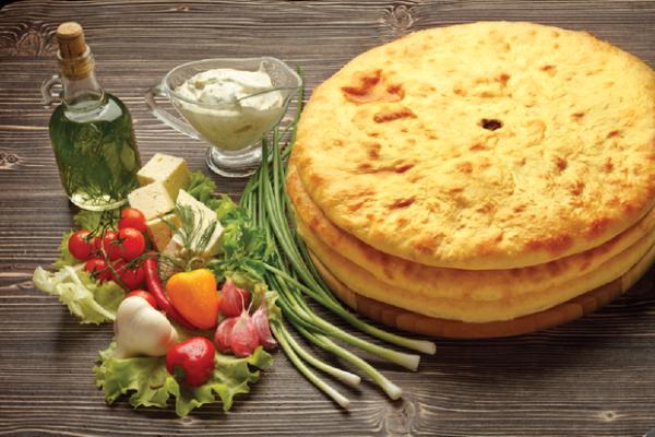 Осетинский пирог с картошкой 33