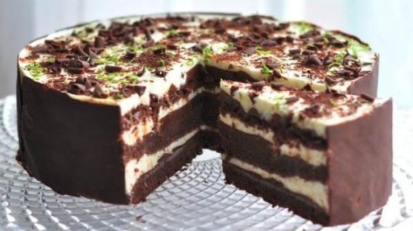 Торт «Шоко-лайм»
