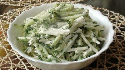Лучшие рецепты салатов для похудения 6