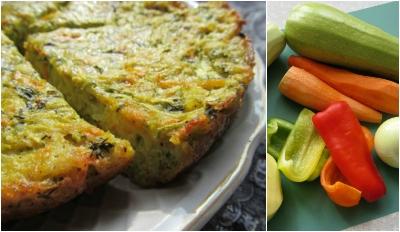 Аппетитный кугель из овощей 2