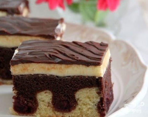 Торт «Дунайские волны» 2 рецепта 1