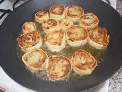 Алупатры - картофельные рулетики 10