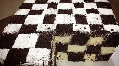 Шахматный торт 13