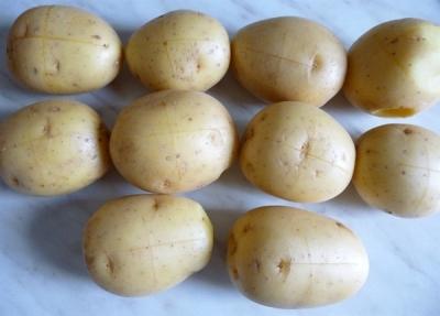 Картофель фаршированный творогом 2