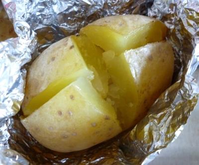 Картофель фаршированный творогом 5