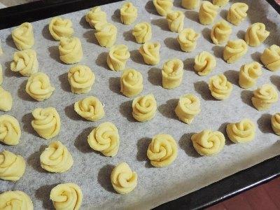Творожное печенье «Чайная роза» 7