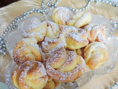Творожное печенье «Чайная роза» 8