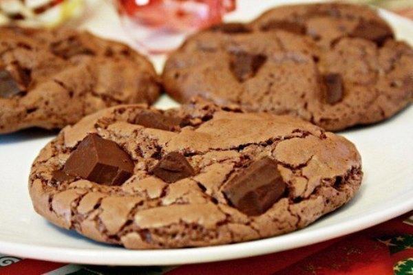 Шоколадное печенье 9