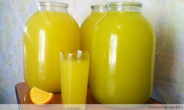 Апельсиновый лимонад 1