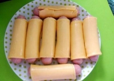 Картофельная запеканка с сосисками в мультиварке 2