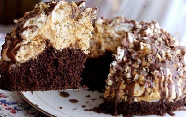 Домашний трюфельный торт 1