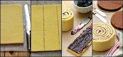 Крученые торты или торты-рулеты 2