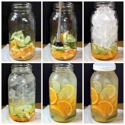 Рецепты приготовления полезной и вкусной воды из фруктов и трав 2