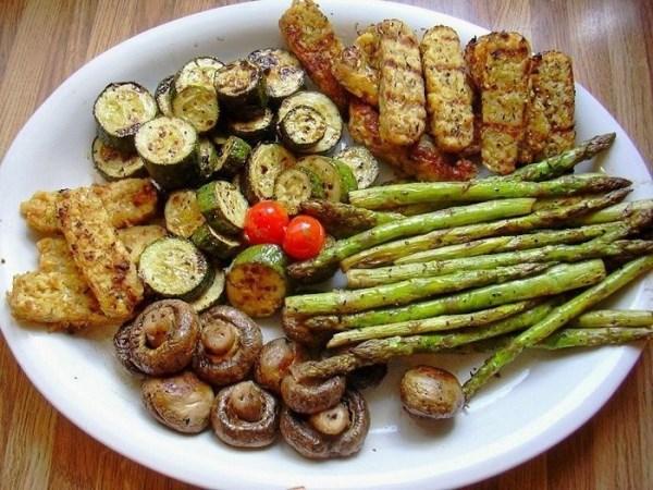 Как вкусно приготовить овощи-гриль 3 рецепта