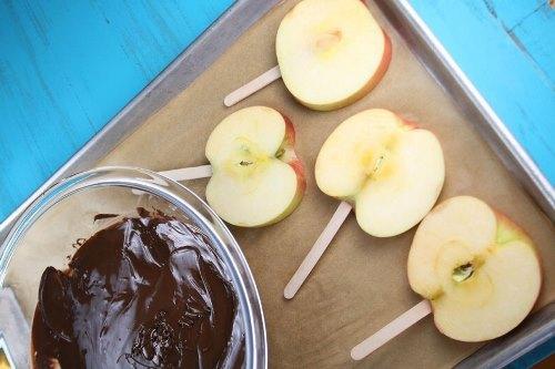 Дольки яблок в карамели рецепт в домашних условиях 564
