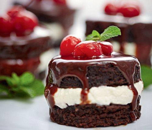 5 рецептов пирожных